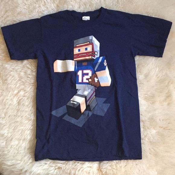 Keya Other - Tom Brady Patriots Minecraft NFL T-shirt Men Small 5f6f397177d0